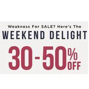 Get Weekend Delight - Myntra Fashion Store Flat 30% - 50% OFF | Myntra Offer