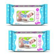 Get Wetty Premium Wet Wipes - Fresh (80 + 80 Count) at Rs 169 | Amazon Offer