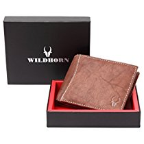 Get WildHorn Brown Mens Wallet at Rs 430   Amazon Offer