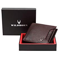Get WildHorn Brown Mens Wallet WH1251B at Rs 400 | Amazon Offer