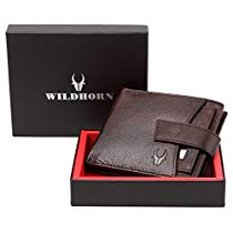 Get WildHorn Brown Mens Wallet WH2066A at Rs 480 | Amazon Offer