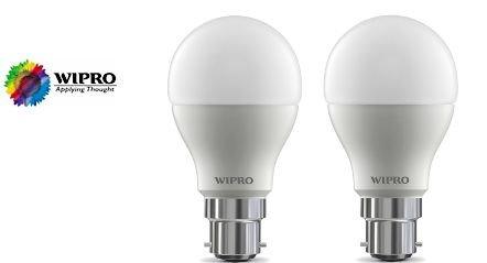 Get Wipro 10W (Pack of 2) Leb Bulb Cool Day Light      at Rs 229 | Flipkart Offer
