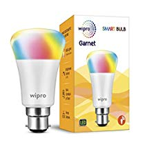 Get Wipro Garnet Smart Light 7W B22 LED Bulb, Compatible with  Alexa & Google Assistant at Rs 1099 |