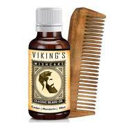 Get WishCare Vikings - Classic Beard Growth Oil - 30 Ml at Rs 379 | Amazon Offer