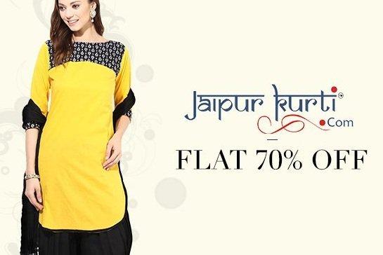 Get Women's Kurtas Min 70% off   at Rs 147 | Amazon Offer