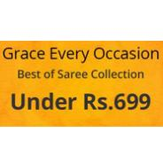 Get Womens Sarees Under Rs.699 | Shopclues Offer