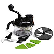 Get Wonderchef Turbo Dual Speed Food Processor with Peeler (Black) at Rs 925 | Amazon Offer