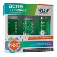 Get Wow Acne Deep Impact Treatment Kit - Step 1-2-3 - Acne Spot Therapy at Rs 799 | Amazon Offer