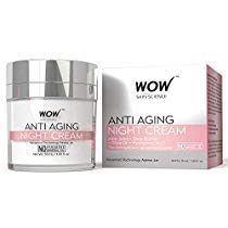 Get WOW Anti Aging No Parabens and Mineral Oil Night Cream, 50ml at Rs 599 | Amazon Offer