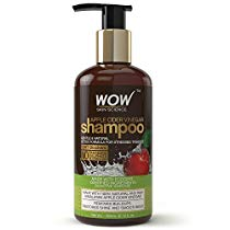 Get WOW Apple Cider Vinegar No Sulphate and Parabens Shampoo, 300ml at Rs 349 | Amazon Offer