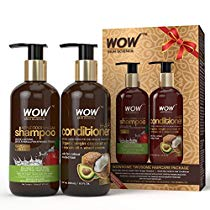 Get WOW Apple Cider Vinegar Shampoo – WOWsome Twosome No Parabens & Sulphates Hair Care Package â
