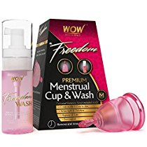 Get Wow Freedom Reusable Menstrual Cup and Wash Pre Childbirth at Rs 499 | Amazon Offer