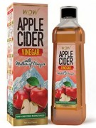 Get WOW Raw Apple Cider Vinegar 400 ml      at Rs 99 | Amazon Offer