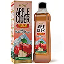 Get WOW Raw Apple Cider Vinegar 750 ml with strand of mother at Rs 259 | Amazon Offer