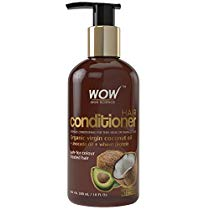 Get WOW skin science hair conditioner organic virgin coconut oil + avocado oil at Rs 349 | Amazon Of