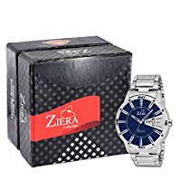 Get ZIERA Analogue Blue Dial Men's Watch – Zr7040 at Rs 386   Amazon Offer