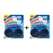 Harpic Flushmatic Aquamarine Toilet Cleaner - Buy 1 Get 1 Free at Rs 110 | Grofers Offer
