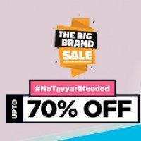 Jabong Big Brand Sale 70% Off Offers [29-30-31 July 2017] -Baapoffers.com