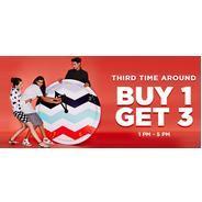 Jabong - Clothing & Footwear Buy 1 Get 3 Free | Jabong Offer