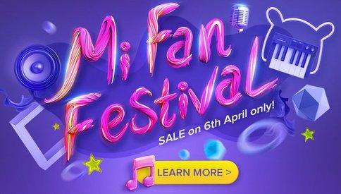 Mi Fan Festival 2017 Sale on 6th April, Rs 1 Flash Sale and more