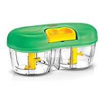 Prestige Double bowl Vegetable cutter (Green, 600 Ml) at Rs 855 | Amazon Offer