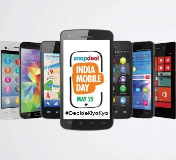 Snapdeal 10% OFF Mobile Sale -10% OFF on Debit/Credit Cards.