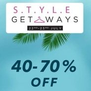 Style Get Ways Sale Flat 40% - 60% OFF | Myntra Offer