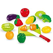 Sunshine Realistic Sliceable 12 Pcs Fruits and Vegetables Cutting Play Toy Set at Rs 284 | Amazon Of