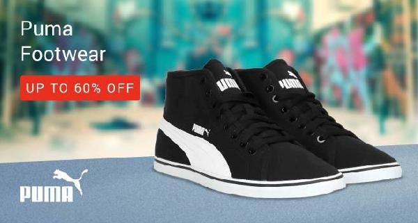 Upto 60% Off on Puma Footwear at Flipkart for March 2019  27b5e43d0