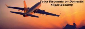 Yatra Coupon YTPAYPAL -Rs 800 OFF on Flight Tickets.