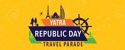 Yatra Republic Day Sale Offer -Rs 500 OFF on Domestic Flights + Rs 200 Mobikwik Cash -FLY2017