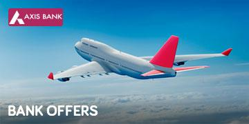 YTAXIS17 -Axis Bank Yatra Offer | 1200 off on Flights | 30% off on Hotels Coupon.